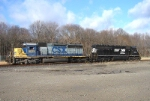 CSX 8078 & NS 1704